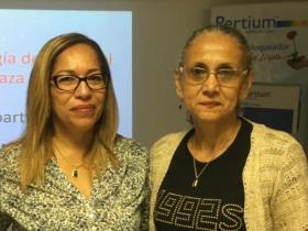 Dras. Carmina Salazar y Amada Millán