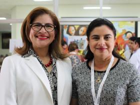 Dras. Paola Escobar y Adelaida Alvear